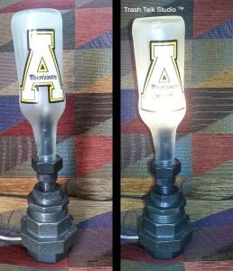 app bottle lamp