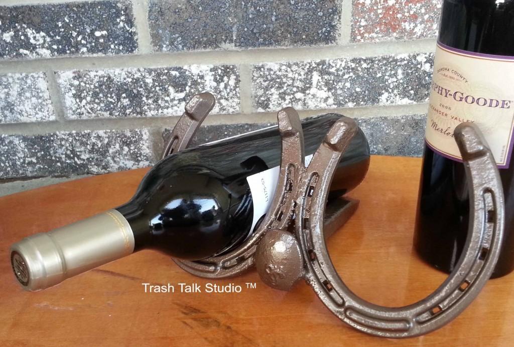 wine holder silver